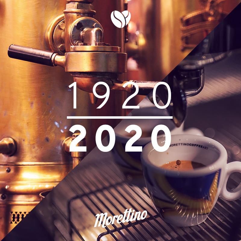 Cento anni di Morettino, una storia d'amore per il caffè che si rinnova