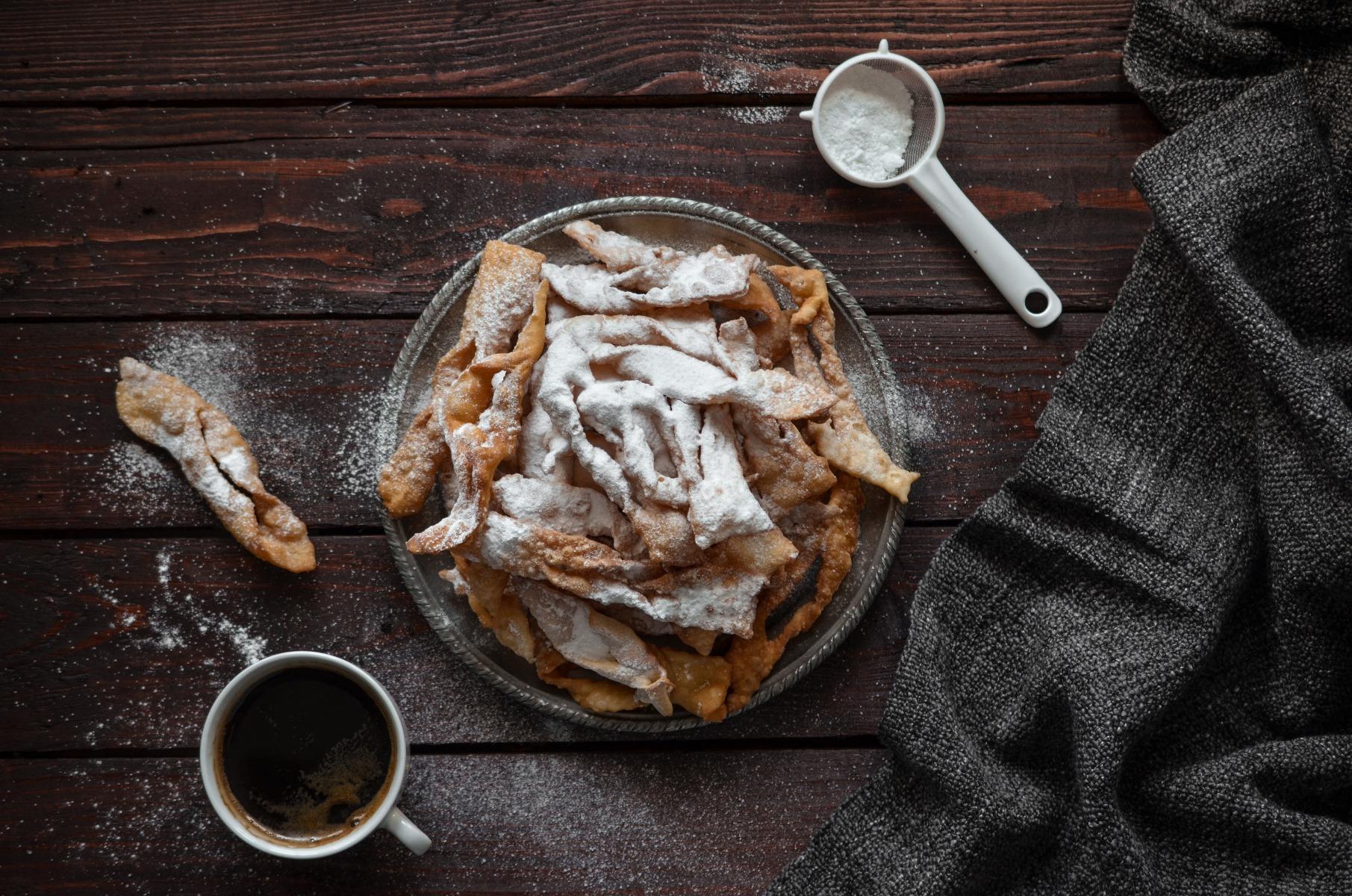 Le ricette di Casa Morettino: le Chiacchiere al caffè