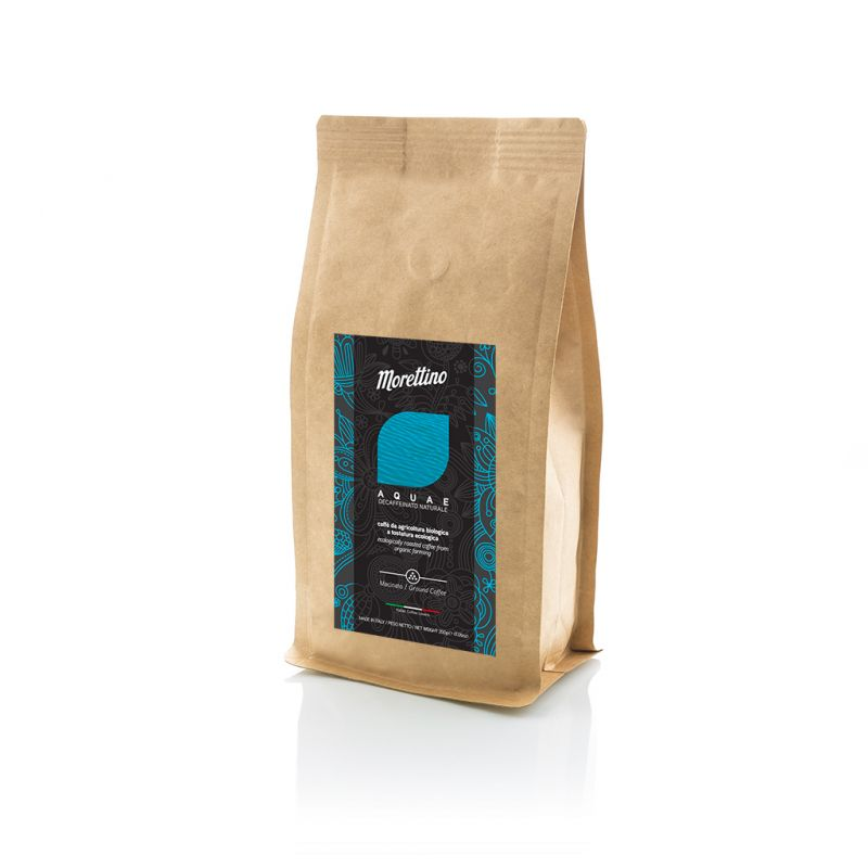 Aquae - caffè biologico decaffeinato macinato 200 g