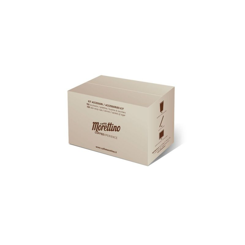 Kit 150 Accessori Morettino Nature - Zucchero Canna