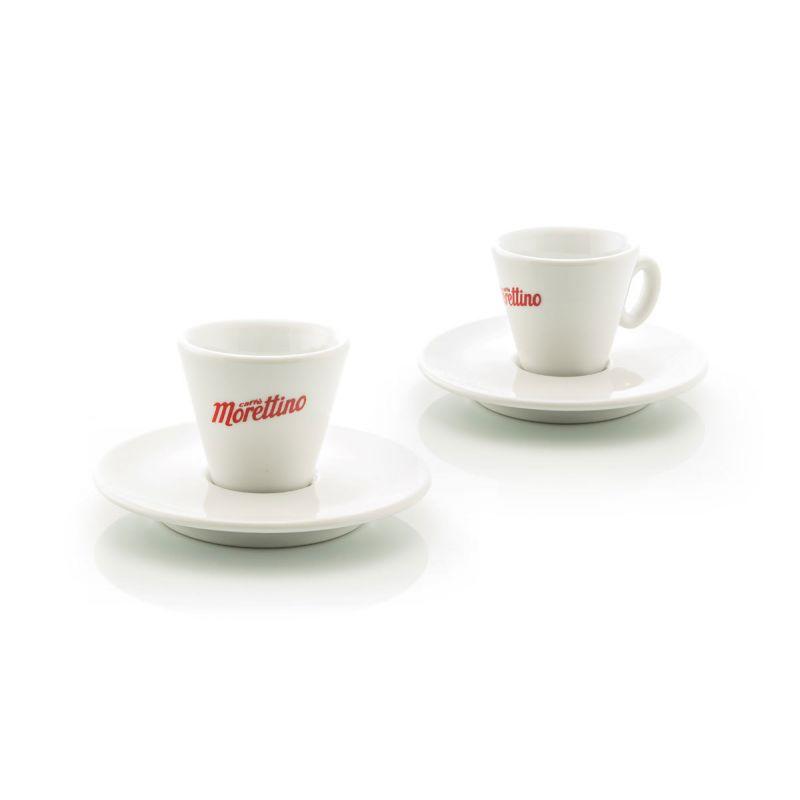 2 Tazze Espresso Morettino Classic