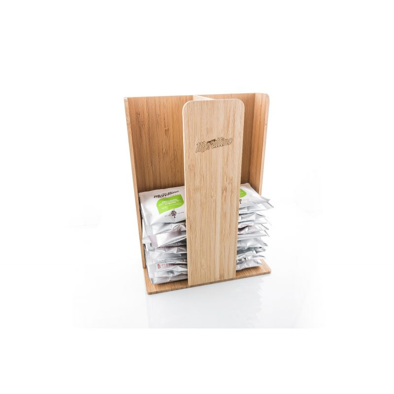 Porta Cialde Morettino Coffee Design - Bamboo (2 scomparti)