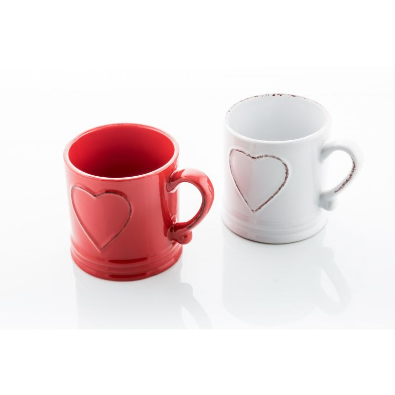 2 Mug Love Vintage - Colours