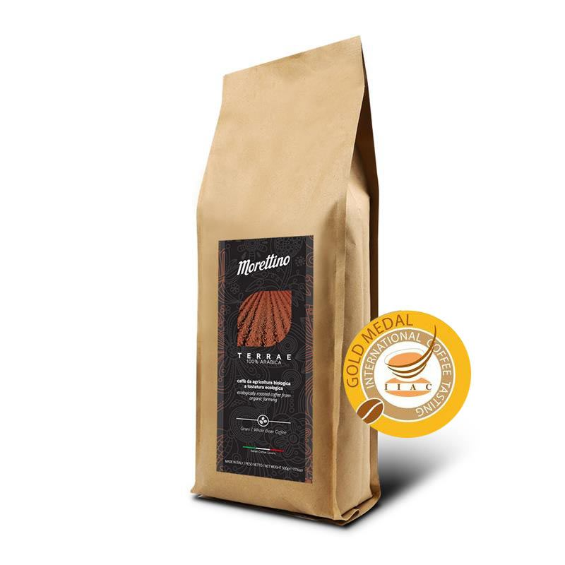 Terrae - caffè biologico 100% Arabica in grani 500g