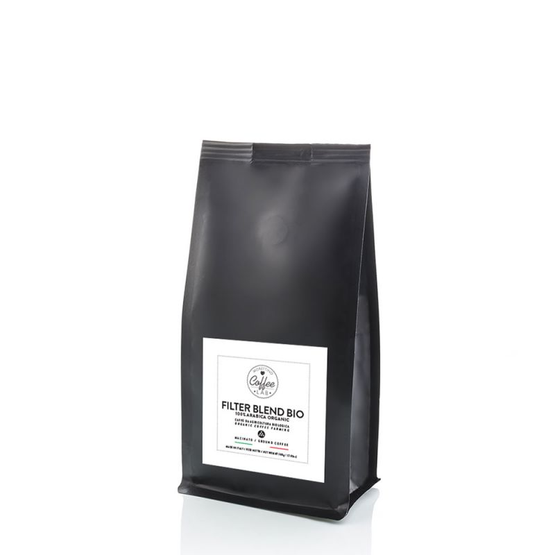 Filter Coffee Lab Blend 100% Arabica Biologico - caffè macinato 200g