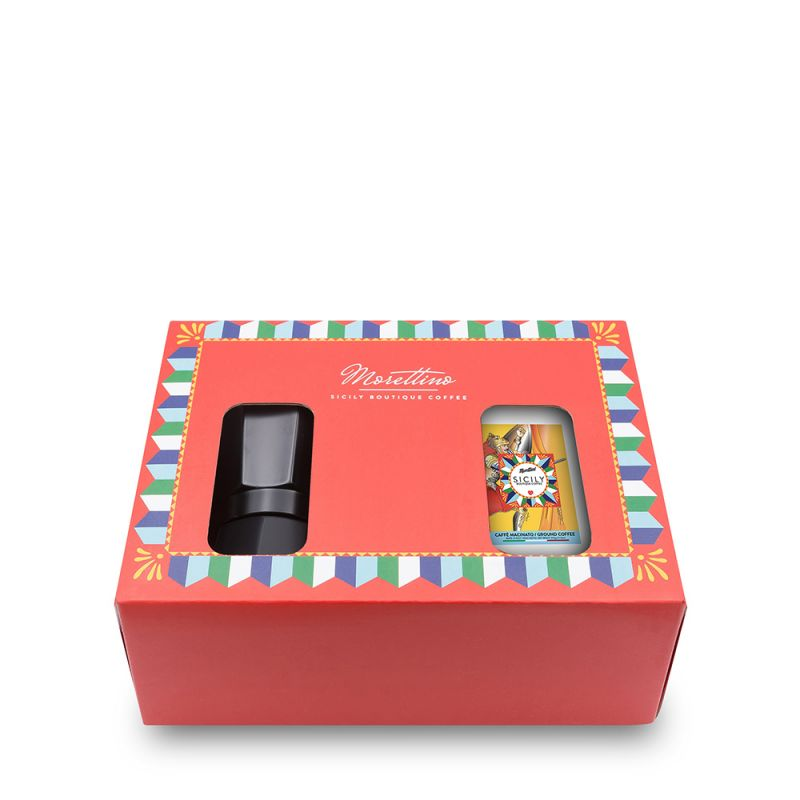 Gift Moka Box Sicily Boutique Coffee - Pacco morbido