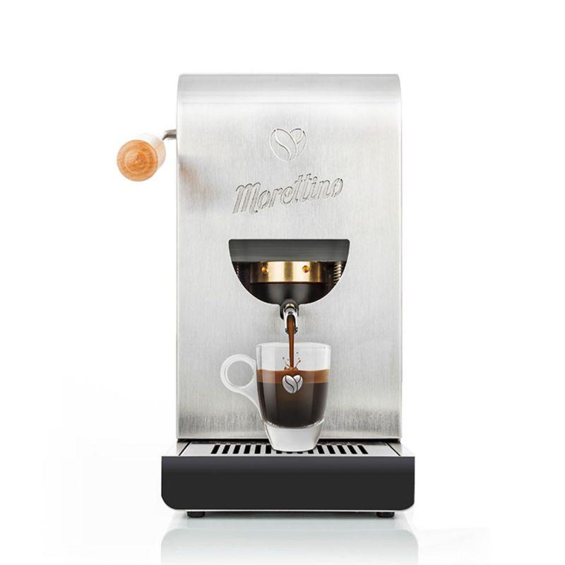 Macchina Morettino Espresso al Quadrato - Silver