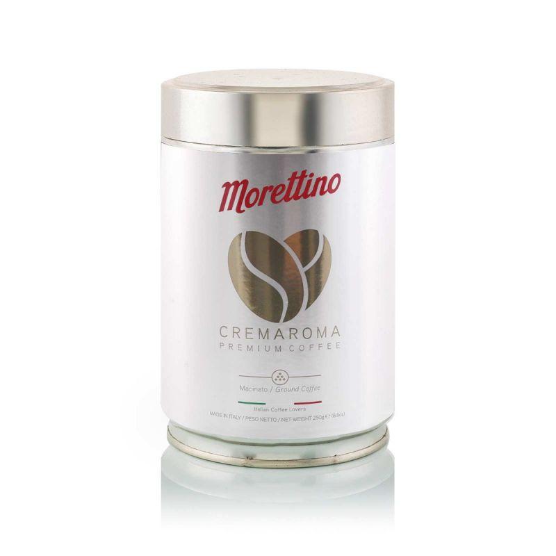 Cremaroma - caffè macinato fresco - latta da 250g