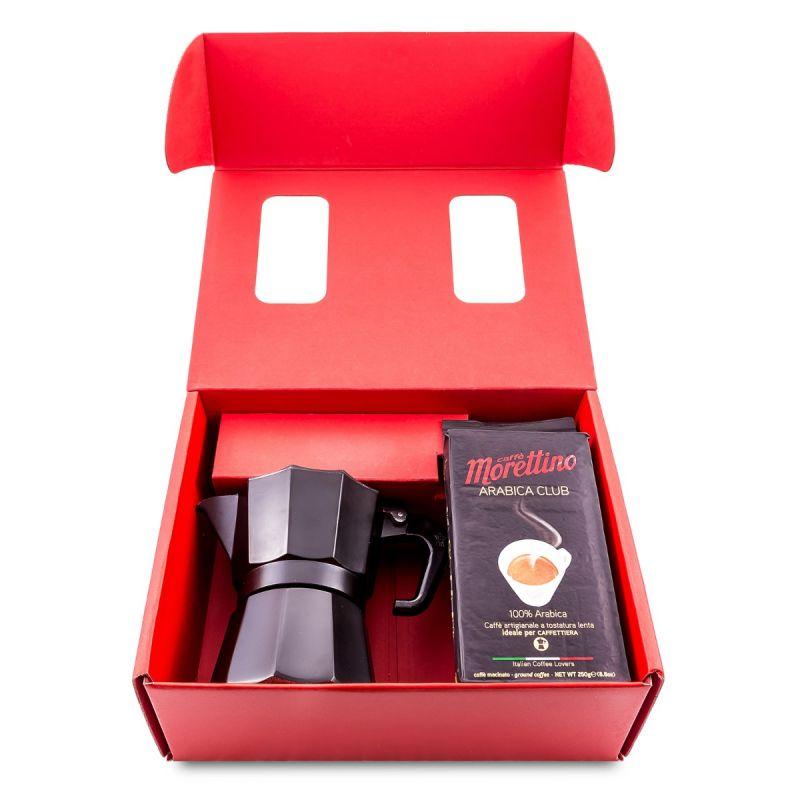 Gift Moka Box Sicily Boutique Coffee - 100% Arabica Classic Blend