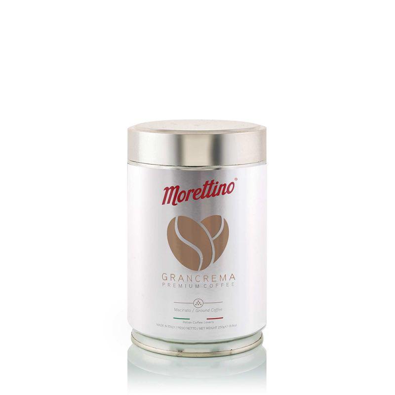 Grancrema - caffè macinato fresco - latta da 250g